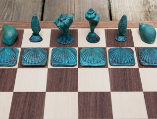 Shell Chess Set